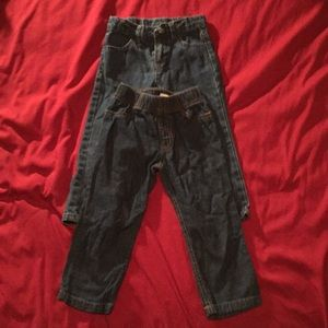 Set of 2 jean pants.